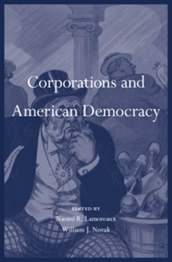 Corporations and American Democracy jacket / cover