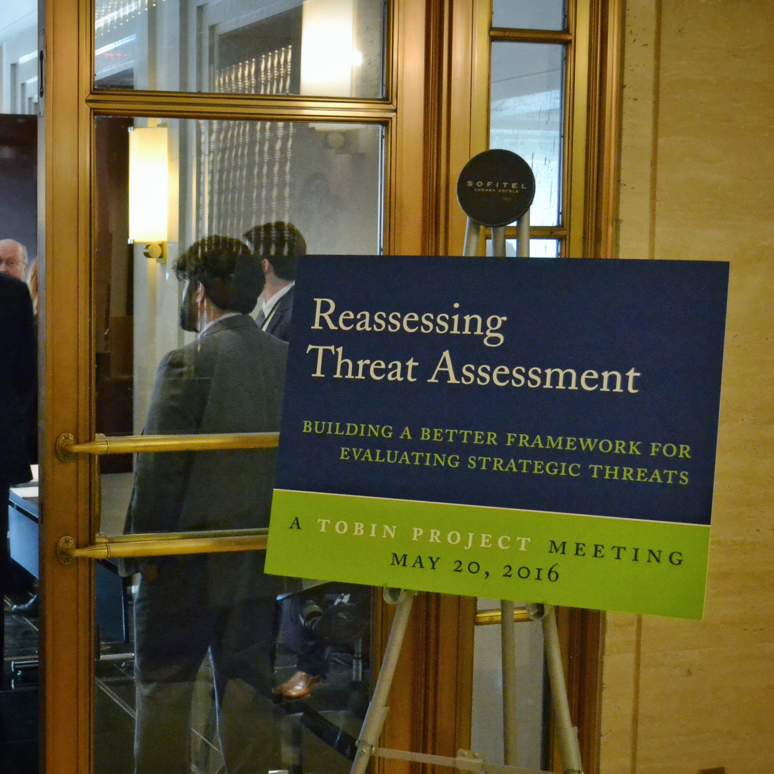 Threat Assessment conference sign