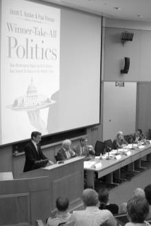 Panel discussion of Winner-Take-All Politics