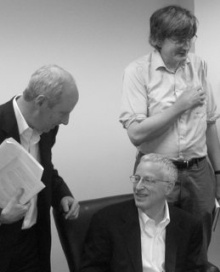 Michael Sandel, George Akerlof, and Richard Tuck